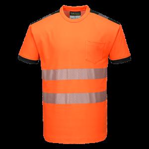 T-Shirt Alta Visibilità Vision Portwest  - T181ORR4XL - Arancio