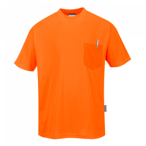 T-Shirt Day-Vis maniche corte Portwest  - S578YER4XL - Giallo