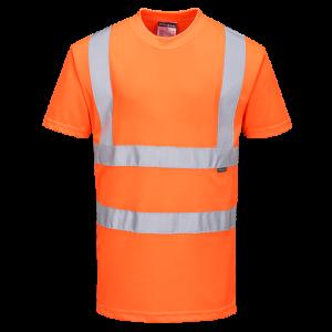 T-shirt RIS ad alta visibilità Portwest  - RT23ORR4XL - Arancio