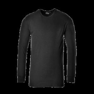 T-Shirt Termica manica lunga Portwest  - B123BKRL - Nero