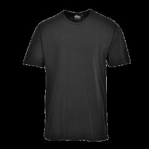 T-Shirt termica maniche corte Portwest  - B120BKRL - Nero