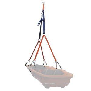 Sistema di cinghie per il trasporto verticale delle barelle TC103
