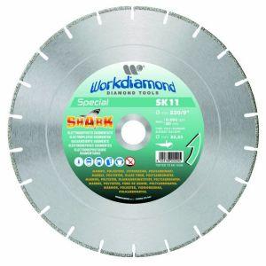 disco smerigliatrice per poliestere, vetroresine e policarbonati