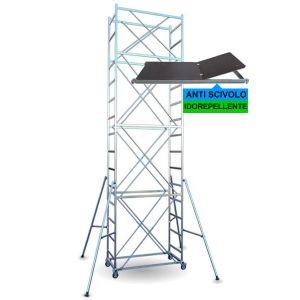 Trabattello FULL base 160x84 cm altezza mt. 6,70