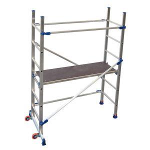 Trabattello in alluminio altezza lavoro m 2,90