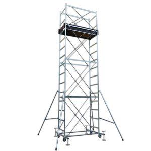 Trabattello FULL base 160x80 cm altezza mt. 6,70 Completo