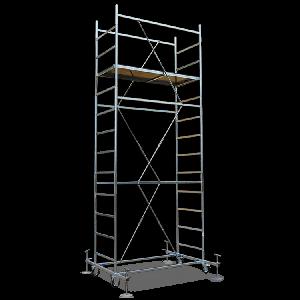 Trabattello Maxitris Plus base 160x80 cm altezza mt.5,10