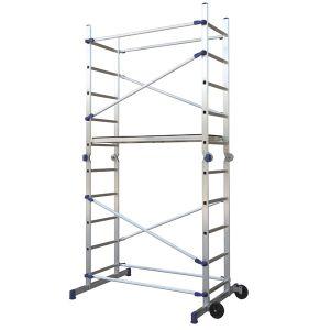 Trabattello in alluminio  altezza 3,90