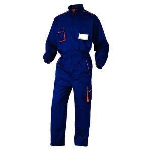 Tuta Intera da Lavoro Blu/arancio Deltaplus