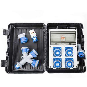Kit Quadro Elettrico Monofase con valigetta