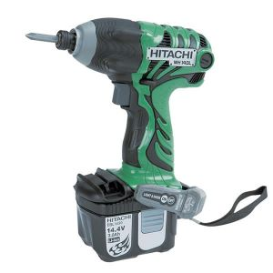 Avvitatore ad impulso a batteria al litio Hitachi wh14dl